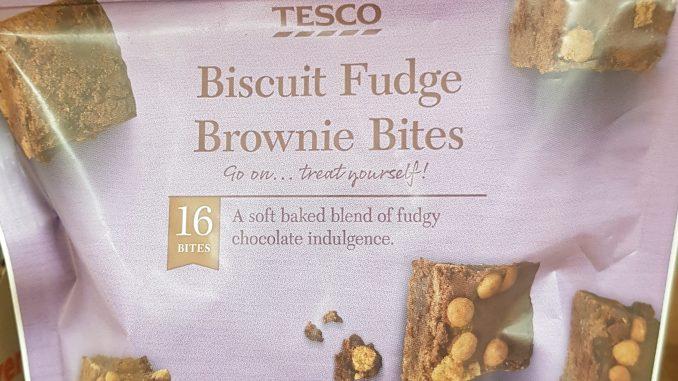 Tesco biscuit fudge brownie bites syns