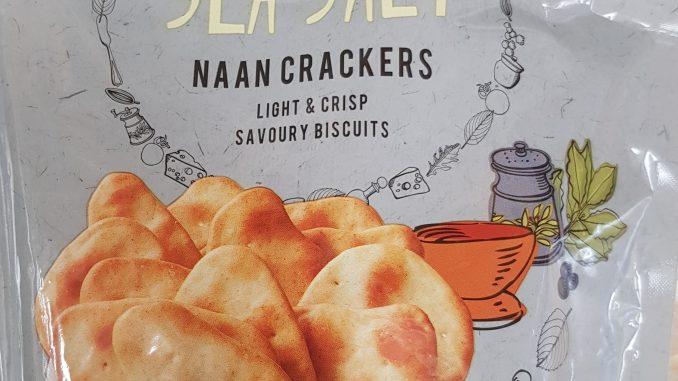 Tesco sea salt naan crackers syns