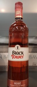 Black Tower rose wine syns