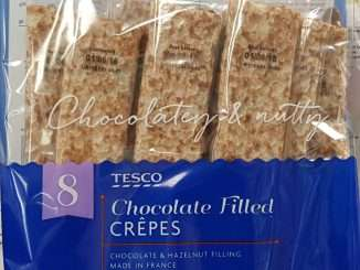 Tesco chocolate filled crepe syns