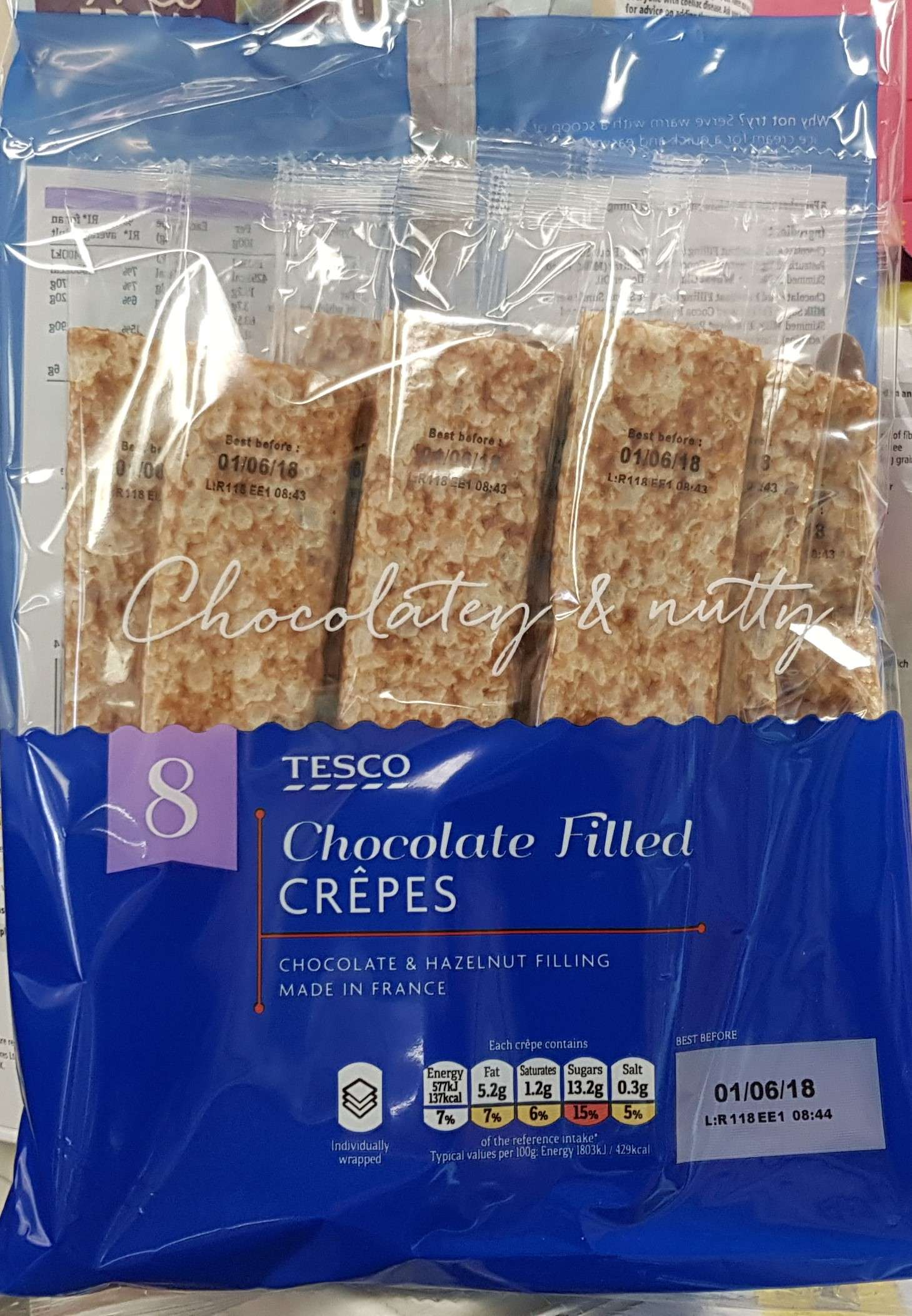 Tesco Chocolate Filled Crepe Syns Syn Search Results For The 12th May 2018
