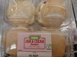 Asda Jam & Cream Scones syns
