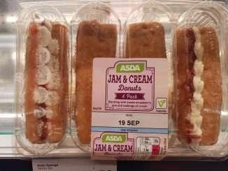 Asda Jam & Cream donuts syns