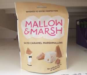 Mallow & Marsh salted caramel marshmallows syns